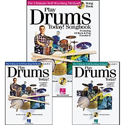 Hal Leonard Play Drums Today! Pack (Book/CD) (699685)