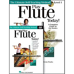 Hal Leonard Play Flute Today! Beginner's Pack - Includes Book/CD/DVD (699553)