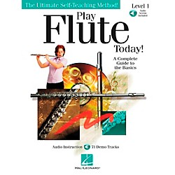 Hal Leonard Play Flute Today! Level 1 Book/CD (842043)
