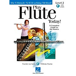 Hal Leonard Play Flute Today! Level 2 CD/Pkg (842044)