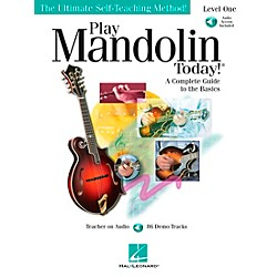 Hal Leonard Play Mandolin Today! level One Book/CD (699911)