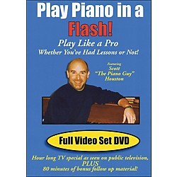Hal Leonard Play Piano In A Flash Scott Houston Piano Guy DVD (320885)