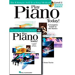 Hal Leonard Play Piano Today! Level One (Book/CD/DVD) (699545)