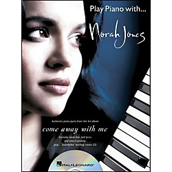 Hal Leonard Play Piano With... Norah Jones (Book/CD) arranged for piano, vocal, and guitar (P/V/G) (306559)