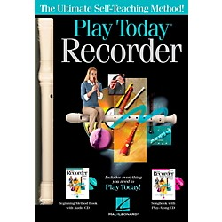 Hal Leonard Play Recorder Today Complete Kit Includes Method, Songbook,  2 CD's and Recorder (119830)