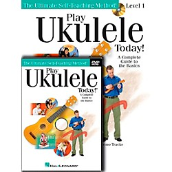 Hal Leonard Play Ukulele Today! Beginner's Pack (Book/CD/DVD) (701872)