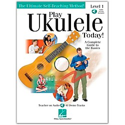 Hal Leonard Play Ukulele Today! Level One Book/CD 9X12 (699638)