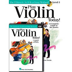 Hal Leonard Play Violin Today! Beginner's Pack - Includes Book/CD/DVD (701876)