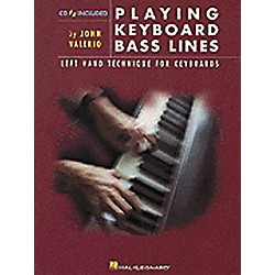 Hal Leonard Playing Keyboard Bass Lines Left-Hand Technique For Keyboards Book/CD (290483)