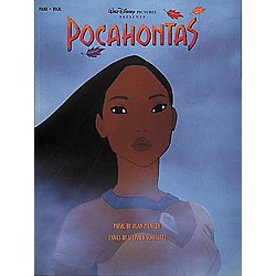 Hal Leonard Pocahontas Piano, Vocal, Guitar Songbook (313013)
