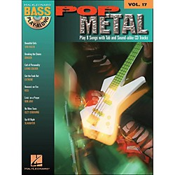 Hal Leonard Pop Metal Bass Play-Along Volume 17 Book/CD (699826)
