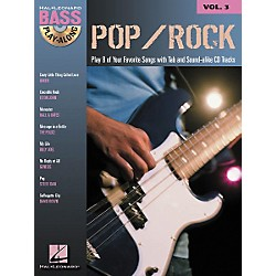 Hal Leonard Pop/Rock Bass Guitar Play-Along Series Book with CD (699677)
