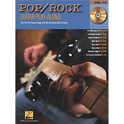 Hal Leonard Pop/Rock Guitar Play-Along Series Book with CD (699587)