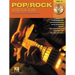 Hal Leonard Pop/Rock Guitar Play-Along Series Volume 4 Book with CD (699571)
