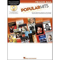 Hal Leonard Popular Hits For Tenor Sax - Instrumental Play-Along Book/CD (842514)
