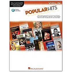 Hal Leonard Popular Hits For Violin - Instrumental Play-Along Book/CD (842518)
