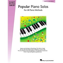 Hal Leonard Popular Piano Solos Book 2 Hal Leonard Student Piano Library by Bill Boyd (296032)