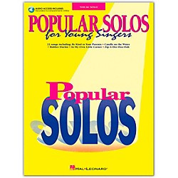 Hal Leonard Popular Solos For Young Singers Book/CD (740150)