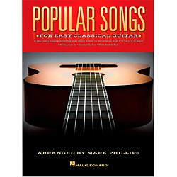 Hal Leonard Popular Songs For Easy Classical Guitar (With Tab) (130239)