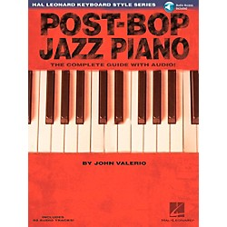 Hal Leonard Post-Bop Jazz Piano - The Complete Guide (Book/CD) (311005)
