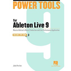 Hal Leonard Power Tools For Ableton Live 9 Book/DVD-ROM (333217)