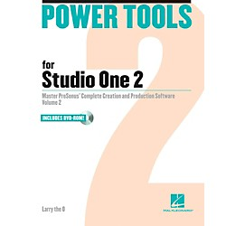 Hal Leonard Power Tools For Studio One 2 Book/DVD-ROM (110295)