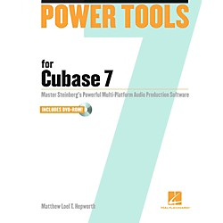 Hal Leonard Power Tools for Cubase 7 Book/DVD-ROM (333397)
