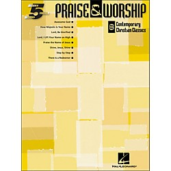Hal Leonard Praise & Worship (8 Contemporary Christian Classics) For Five Finger Piano (311044)