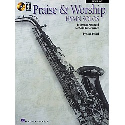 Hal Leonard Praise & Worship Hymn Solos - 15 Hymns Arranged For Solo Performance For Clarinet and Tenor Sax Book (841376)