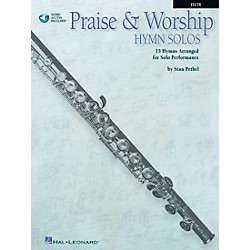 Hal Leonard Praise & Worship Hymn Solos - 15 Hymns Arranged For Solo Performance For Flute Book/CD Pkg (841373)
