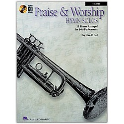 Hal Leonard Praise & Worship Hymn Solos - 15 Hymns Arranged For Solo Performance For Trumpet Book/CD (841377)