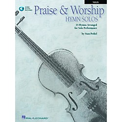 Hal Leonard Praise & Worship Hymn Solos - 15 Hymns Arranged For Solo Performance For Violin Book/CD Pkg (841380)