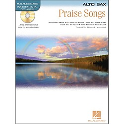 Hal Leonard Praise Songs For Alto Sax Book/CD (842175)
