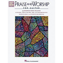 Hal Leonard Praise and Worship Easy Guitar Tab Book (702125)