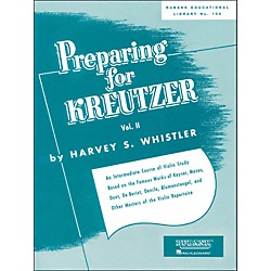 Hal Leonard Preparing For Kreutzer Vol 2 Violin Methods And Studies (4472580)