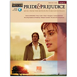 Hal Leonard Pride & Prejudice - Music From The Movie Soundtrack - Piano Play-Along Volume 76 (Book/CD) arranged (311862)