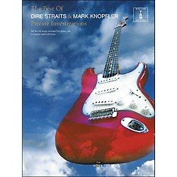 Hal Leonard Private Investigations - The Best Of Dire Straits And Mark Knopfler Tab Book (690833)