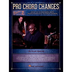 Hal Leonard Pro Chord Changes Vol 2 - Over 150 Standards with Professionally Altered Chords (113012)