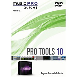 Hal Leonard Pro Tools 10 Beginner/Intermediate Level Music Pro Guide Series DVD (321289)