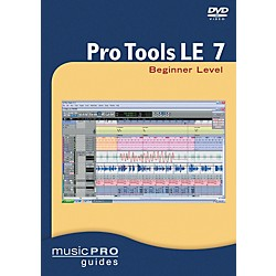 Hal Leonard Pro Tools LE 7 Beginner Level DVD (320625)