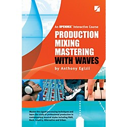 Hal Leonard Production Mixing Mastering With Waves 5th Edition (333255)