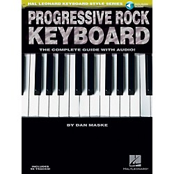 Hal Leonard Progressive Rock Keyboard Book/CD (311307)
