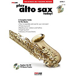 Hal Leonard Proline Play Alto Sax Today Book/CD (121296)