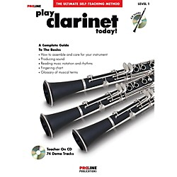 Hal Leonard Proline Play Clarinet Today Book/CD (121295)
