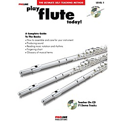 Hal Leonard Proline Play Flute Today Book/CD (121293)