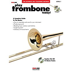 Hal Leonard Proline Play Trombone Today Book/CD (121302)