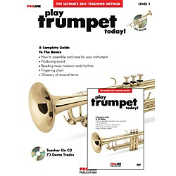 Hal Leonard Proline Play Trumpet Today Beginner's Pack Book/CD/DVD (121326)