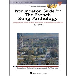 Hal Leonard Pronunciation Guide For The French Song Anthology Book/3CD's (451)