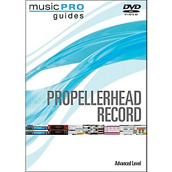 Hal Leonard Propellerhead Record Advanced Music Pro Guide Dvd (320980)