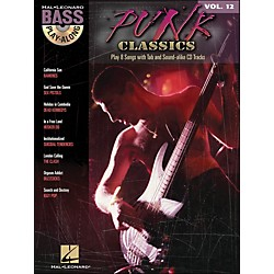 Hal Leonard Punk Classics - Bass Play-Along Volume 12 Book/CD (699814)